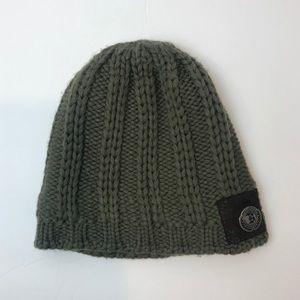 5/$25 Billabong Knit Beanie Olive Green Unisex
